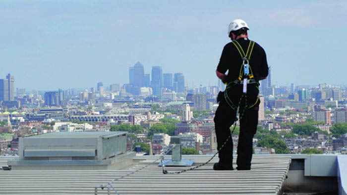 Horizontal Fall Protection Life Line.