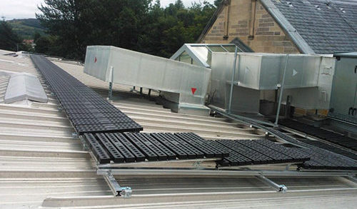 Safesite Modular walkway system for roofs