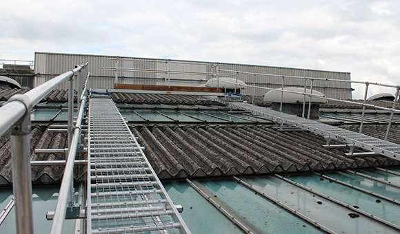 Roof Walk for Fragile Roof Work
