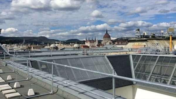 KeeGuard Rooftop Guardrail