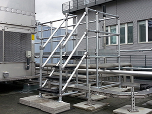 Bespoke modular access platforms are flexible in design
