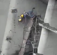 Saved by their harnesses