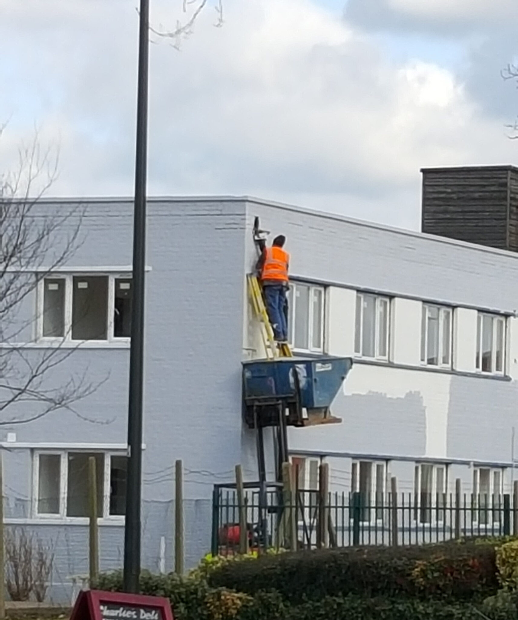 Working unsafely at height