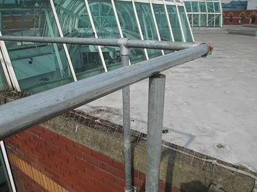 Missing Guardrail Fitting