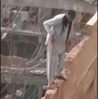 No fall protection