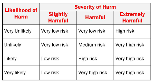 Risk Level Matrix