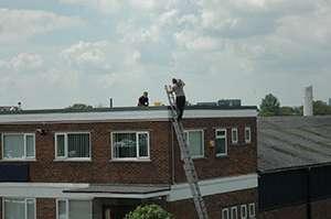 Safe roofwork maintenance